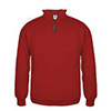 1286b - Badger 1/4 Zip Fleece Pullover