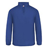 1480 - Badger 1/4 Zip Poly Fleece Pullover