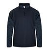 Badger Sport Tonal Blend Fleece 1/4 Zip