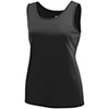 Augusta Solid Girls Singlet - Black - Youth Small