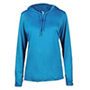 4165 - Badger B-Core L/S Ladies Hood Tee