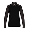 4179 - Badger Sport Tonal Blend Ladies 1/4 Zip