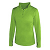 4286 - Badger 1/4 Zip Ladies Ltwt Pullover