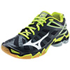 Mizuno Wave Lightning RX3 - Black/Lime - 6.5