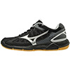 Mizuno Wave Supersonic Women's Shoes - Black/Silver - 5