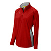 440573 - Mizuno Elite 9 Fire 1/2 Zip Jacket