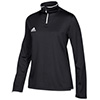 657t - Adidas Iconic Knit Women&#39s 1/4 Zip