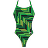 7719730 - Speedo Angles Flyback Girl&#39s Swimsuit