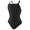Speedo Solid Female Flyback - Black - 26
