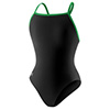 Speedo Edurance Flyback - Black/Green - 30