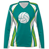 Asics Sublimated L/S Women's VB Jersey