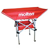 BKH-RED - Molten Tall Ball Cart (Red)
