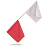 P525RW - FTTF Official Flag Red/white