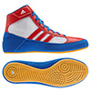 S77938 - Adidas HVC Youth Laced Wrestling Shoe